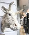 pop corn bull at Roast london